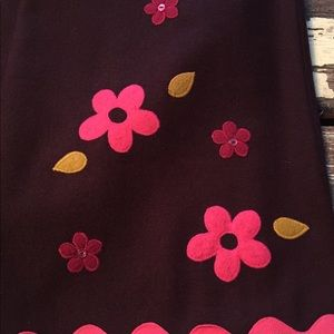 Amazing rare Anthropologie funky floral skirt! New